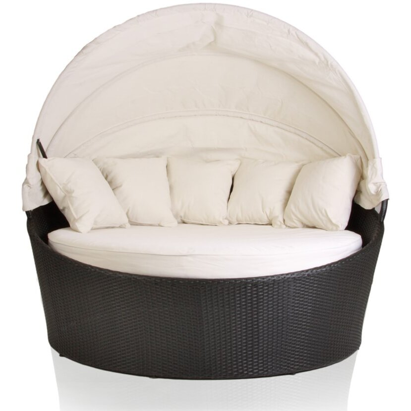 Outdoor Daybed with Cushion & Reviews