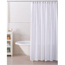 modern 100% cotton shower curtains | allmodern