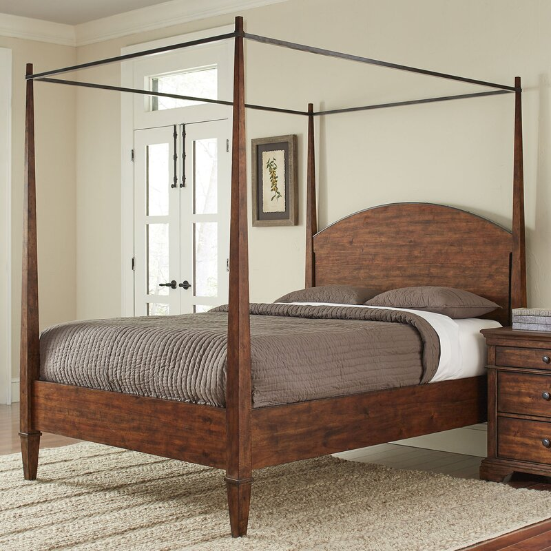 schaffer canopy bed - Iron Canopy Bed Frame