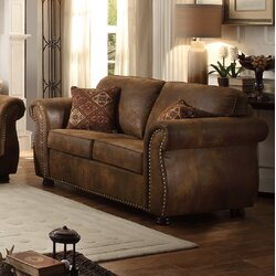 loon peak 3 piece living room set & reviews | wayfair