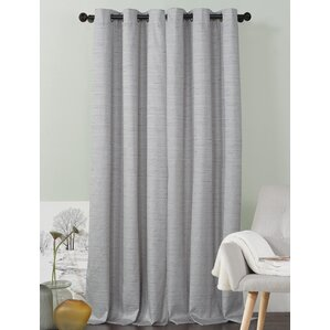 jaylah solid blackout grommet curtain panels set of 2