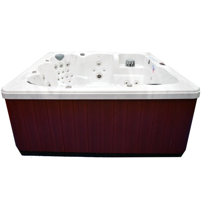 90 Jet Hot Tub With Auxiliary
