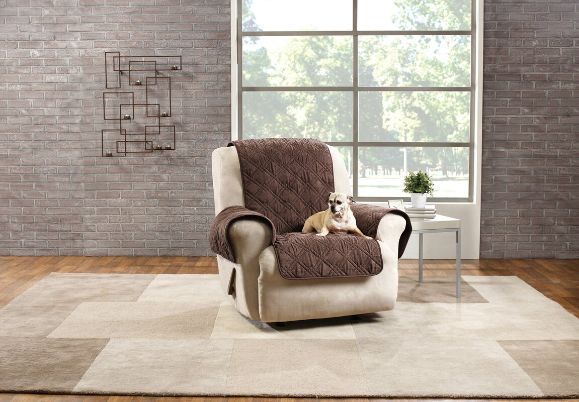 recliner lowes cream slipcover at pd shop com stretch velvet slipcovers pique