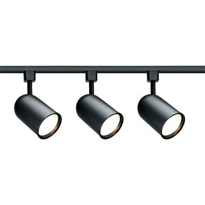 black track lighting. black track lighting