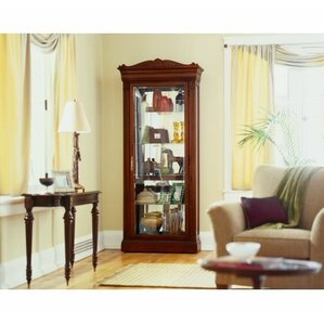 Embassy Lighted Curio Cabinet by Howard M..