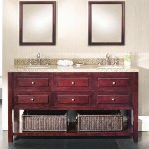 Berlin 60 Double Bathroom Vanity Set