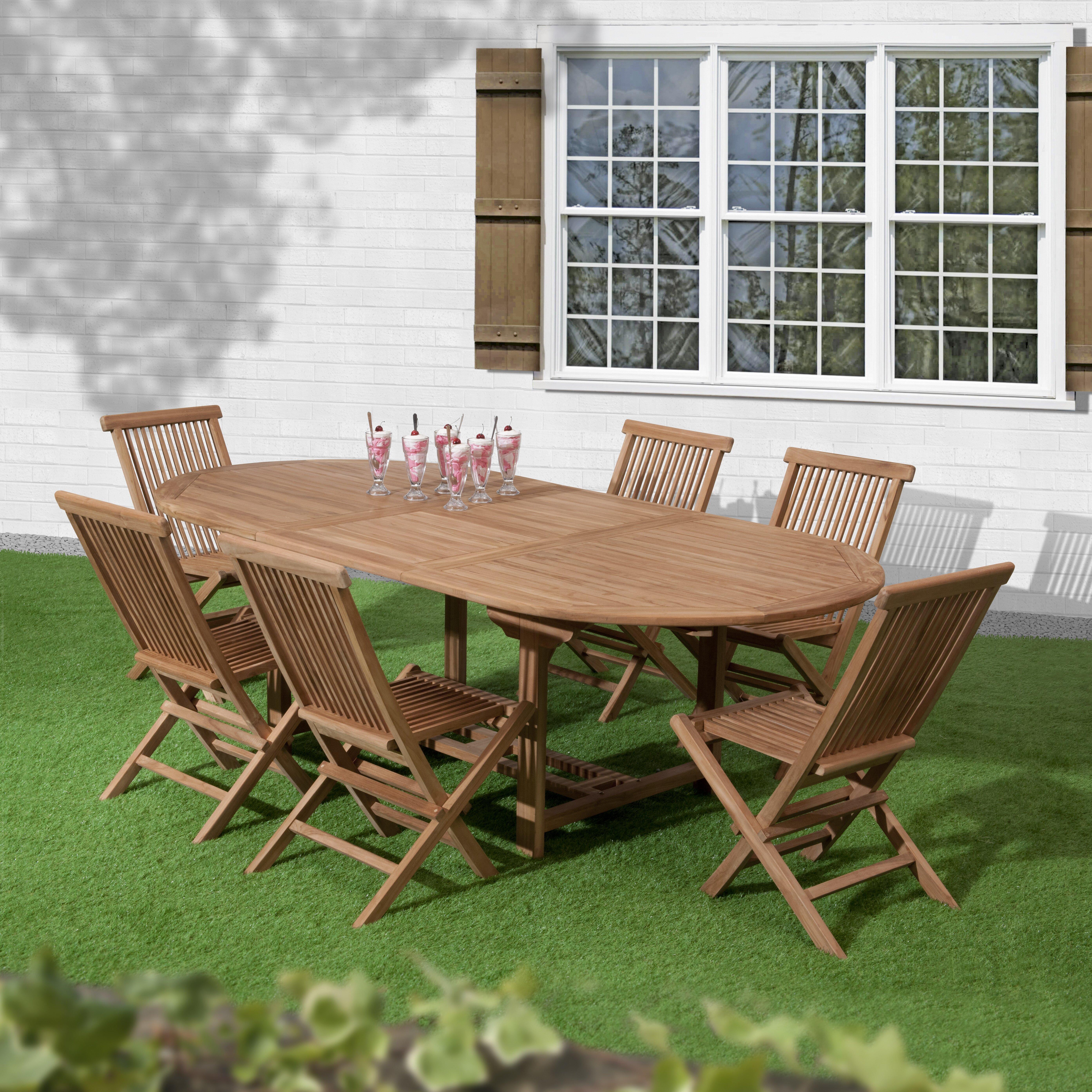 Sol 72 Outdoor Lambert 6 Seater Dining Set Wayfaircouk