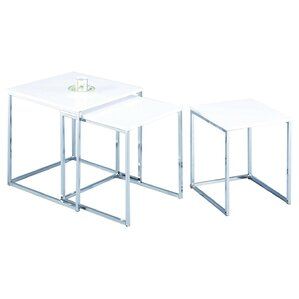 Murano 3 Piece Nest of Tables