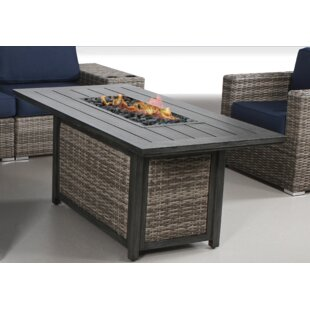 Cast Aluminum Gas Fire Put Wayfair - Cast aluminum gas fire pit table