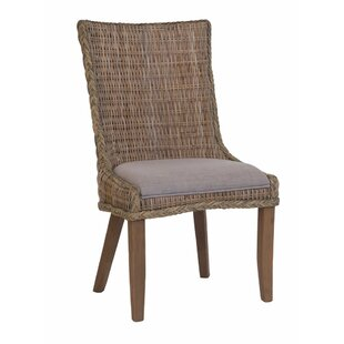 Southchase Wicker Woven Dining Chair (Set of 2)