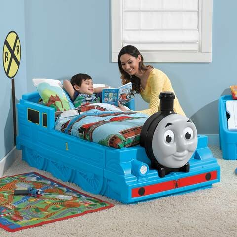 Thomas The Tank Engine™ Toddler Bed  sc 1 st  Wayfair & Step2 Thomas The Tank Engine™ Toddler Bed u0026 Reviews | Wayfair