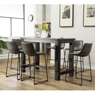 Pub table with 6 chairs wayfair save watchthetrailerfo
