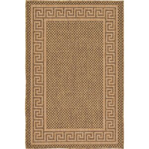 Flint Brown Outdoor Area Rug