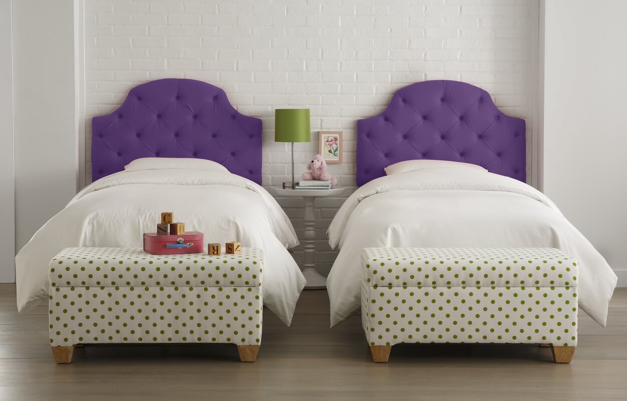 Wayfair Tufted Headboard Tufted Headboard In Bedroom: Skyline Furniture Tufted Cotton Upholstered Headboard