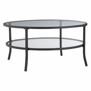 Jackson Round Coffee Table With Storage