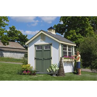Superbe Colonial Williamsburg Precut Wooden Storage Shed
