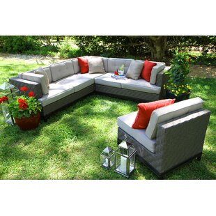 Exceptional Camilla 4 Piece Sectional With Cushions