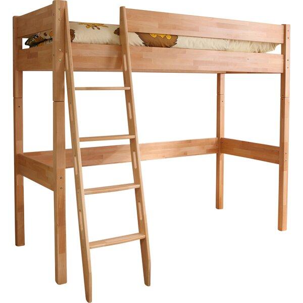ticaa hochbett wolly mit schr gleiter 90 x 200 cm. Black Bedroom Furniture Sets. Home Design Ideas