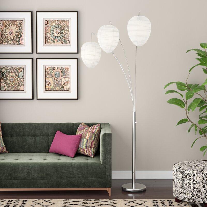 """Zipcode Design Cline 82"""" Tree Floor Lamp & Reviews"""