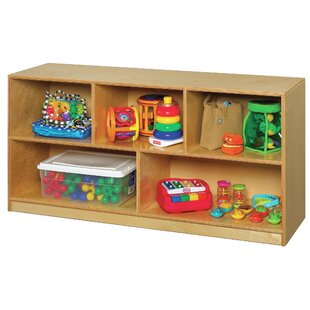 5 Compartment Cubby With Casters