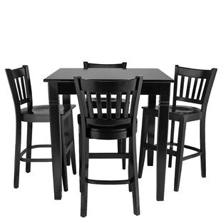Weinberg 5 Piece Pub Table Set
