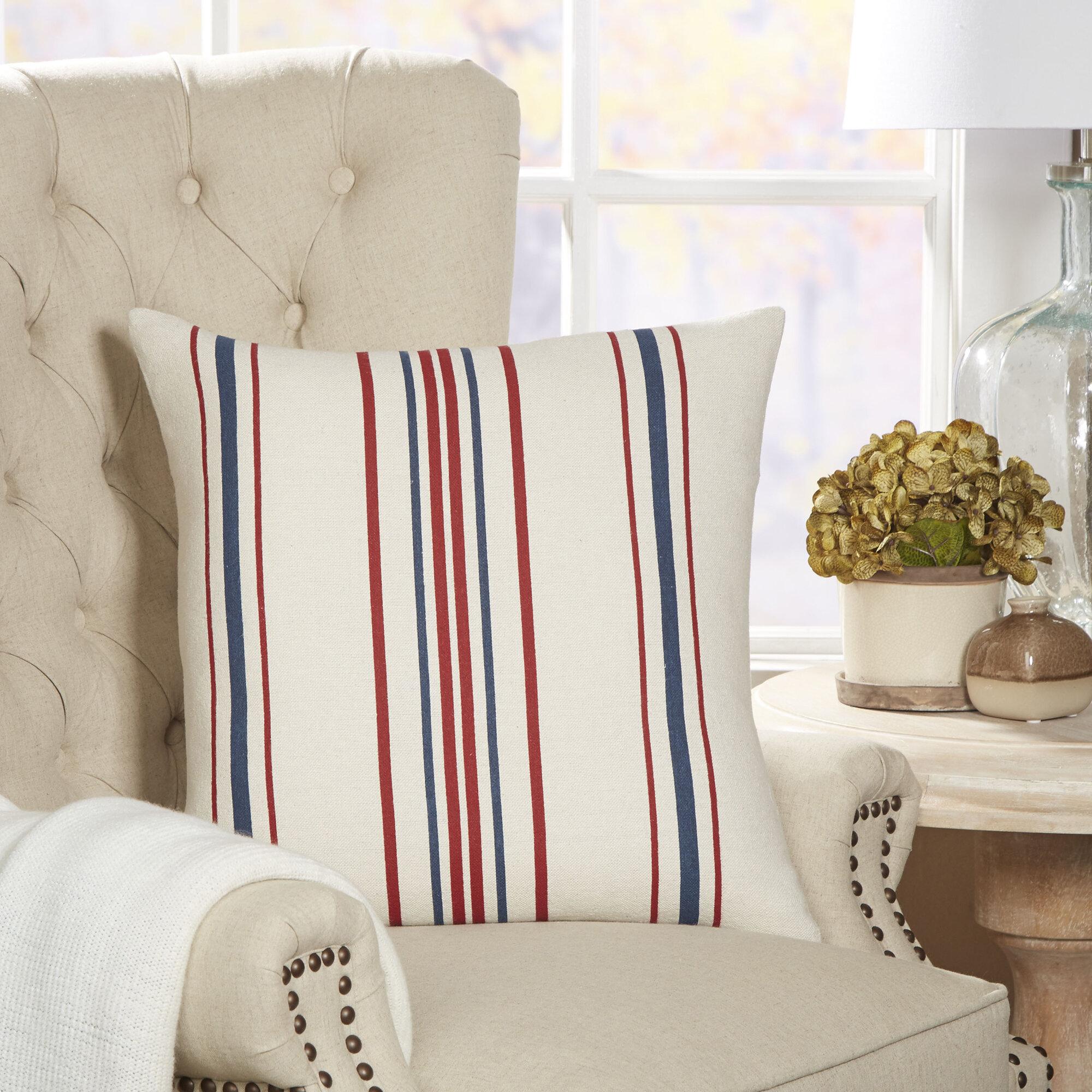 Birch Lane™ Lyon Striped Pillow Cover & Reviews | Wayfair