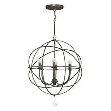 Hutton 6-Light Candle-Style Chandelier