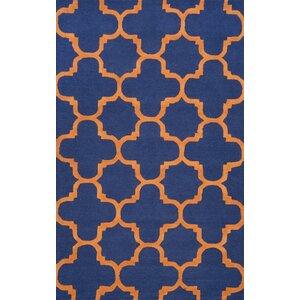 Dragomir Hand-Woven Blue Area Rug