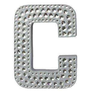 rhinestone letter wall dcor