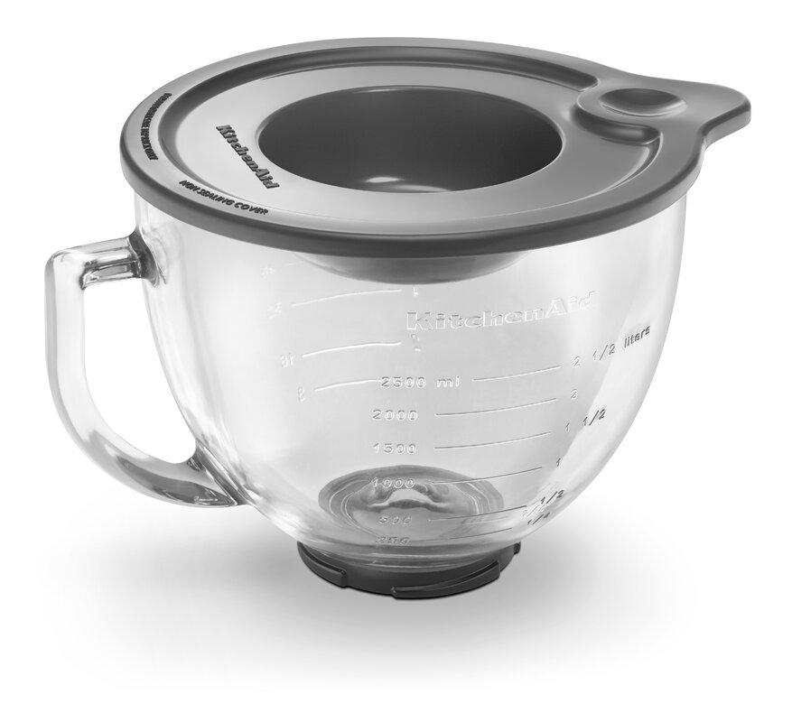 Kitchenaid 5 Qt Glass Bowl With Measurement Markings