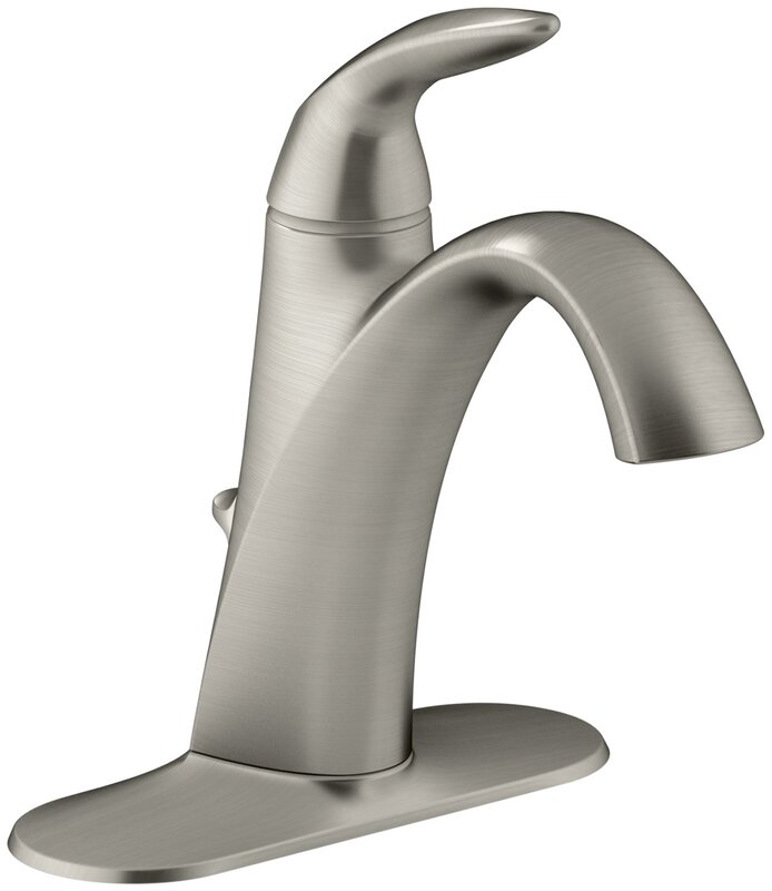 Bathroom Sink Faucet Single Handle kohler alteo single-handle bathroom sink faucet & reviews | wayfair