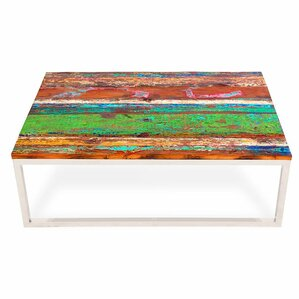 Rising Tide Wood Coffee Table