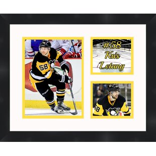 Pittsburgh Penguins Kris Letang 58 Photo Collage Framed Photographic Print