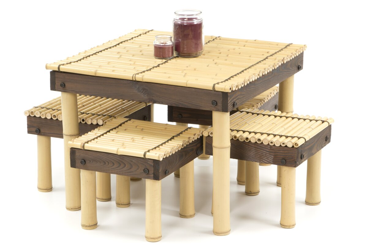 Faux Bamboo Coffee Table | Wayfair