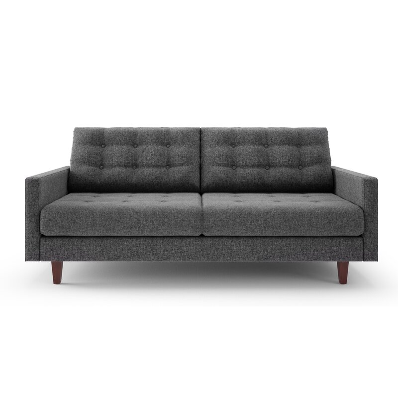 Canyon Sandy Tufted Sofa Grey Tufted Sofa 690