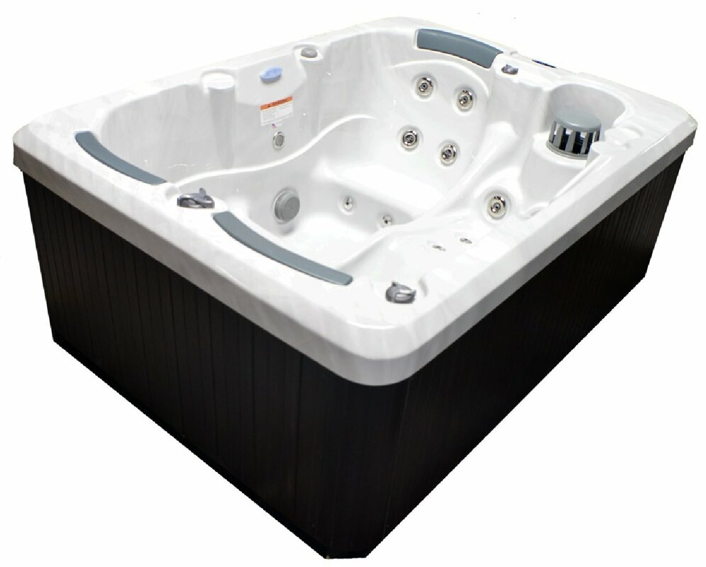 Home and Garden Spas 3-Person 38-Jet Spa with Stainless Jets and ...