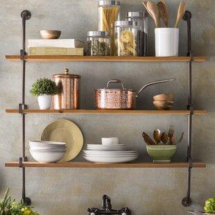 Fountain Valley Wood Wall Shelf & Wooden Wall Plate Racks | Wayfair