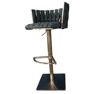 Willmar Adjustable Height Swivel Bar Stool