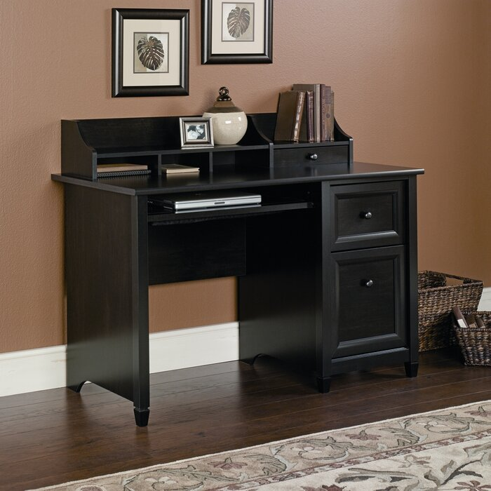 lamantia computer desk with hutch