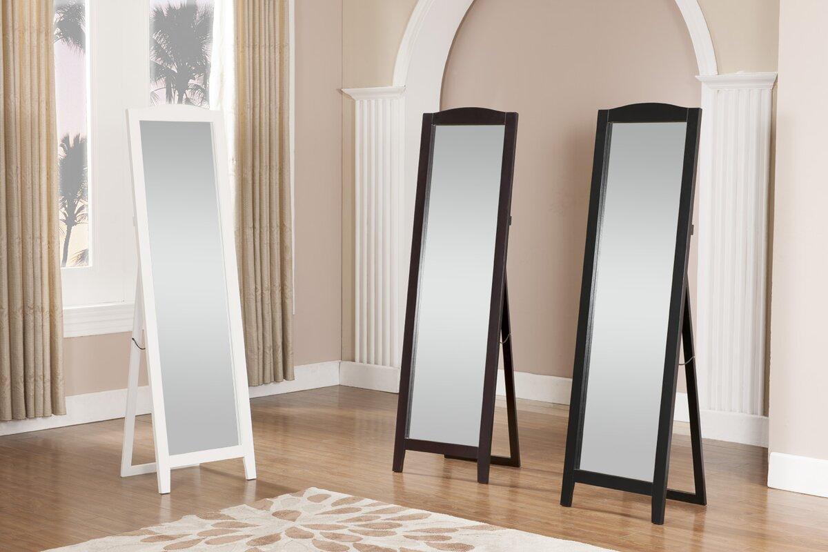 standing full length mirror reviews birch lane. Black Bedroom Furniture Sets. Home Design Ideas