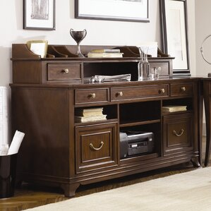 two person home office desk. ulani home office hutch two person desk n
