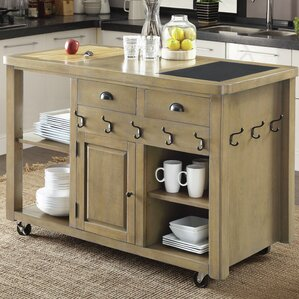 Marion Kitchen Island by 17 Stories
