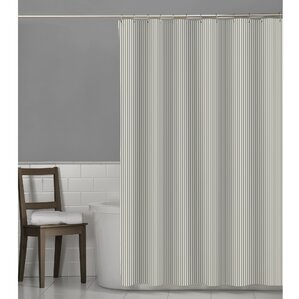 grey white striped shower curtain. Millbury Seersucker Stripe Shower Curtain Gray And Aqua  Wayfair