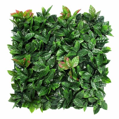0.8 Ft. H X 1.7 Ft. W Charlton Home Artificial Topiary Hedge Plant Fencing E-joy