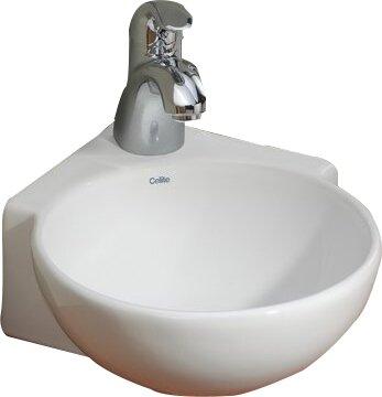 Cheviotproducts Vitreous China 12 Quot Corner Bathroom Sink