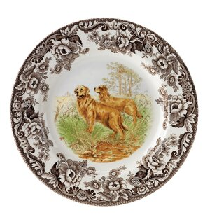 Woodland 10.5\  Retriever Dinner Plate  sc 1 st  Wayfair & Thanksgiving Dinner Plates You\u0027ll Love   Wayfair