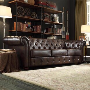 Faux Leather Sofas You\'ll Love