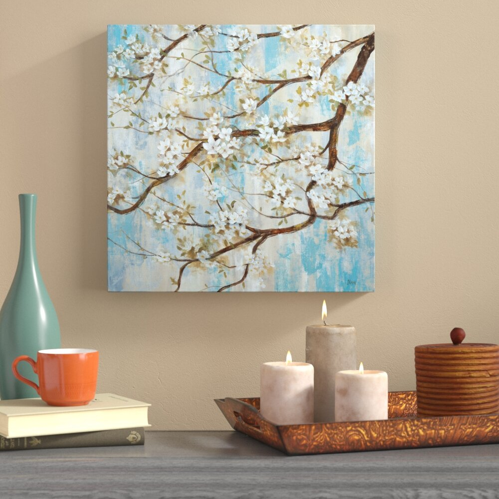 Captivating World Menagerie U0027Spring In Bloomu0027 Oil Painting Print On Wrapped Canvas |  Wayfair