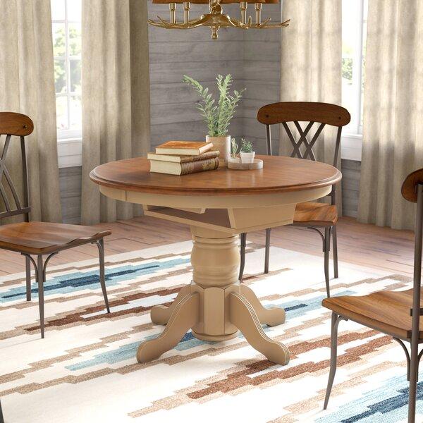 Delicieux Loon Peak Agrihan Extendable Solid Wood Dining Table U0026 Reviews | Wayfair