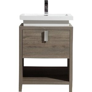 Save darby home co whiting 48 single bathroom vanity set for Levi 29 5 single modern bathroom vanity set